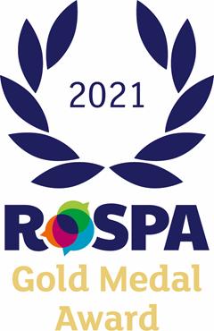 2. RoSPA Gold Medal Award
